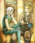 Dragon Age - Keep quiet by Cah3thel