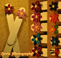 Quilling Bookmark v.1 by Hevia