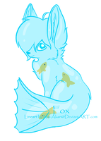 Water Fox Cheap -Closed- by Furry-Adopts576