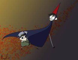 Over the Garden Wall by Nightmares4Breakfast