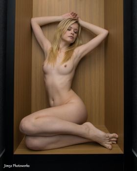Olivia Preston in a Hotel Room 21 by Jim52-Photoworks
