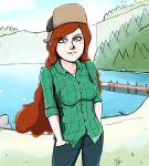 Gravity Falls - Wendy Corduroy! by Crescendolls187
