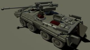 BTR-20U IFV Model WIP06 by MikeDoscher