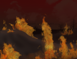 .:Burned Land:. by sana-0095