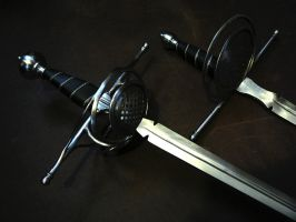 Sidesword-dagger set - 2 by Danelli-Armouries