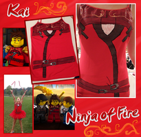Ninjago Tanks WIP 9: Kai Photos by Fanfiction-Princess