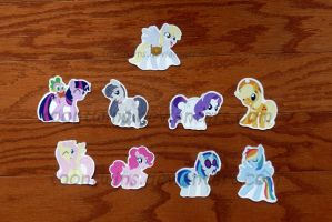 Got Stickers -- My Little Pony: FiM by ToonTwins