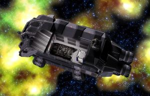 Sulwar Military Shuttle 05 by MADMANMIKE
