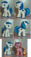 My Little pony G4 Colt Shining Armor by SanadaOokmai
