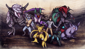 Commission: Matt's team by ShadeofShinon