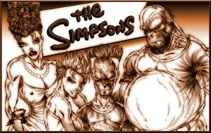 The Simpsons by roo157