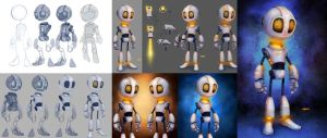 CA Unit-E 3D by CGCookie