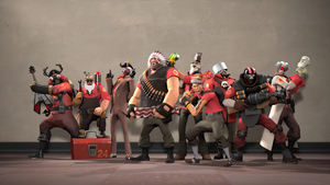 TF2 Silly Fortress Wallpaper by BemoGames