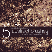 5 abstract brushes by Sarytah