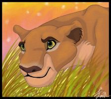 Nala on the Prowl by itara