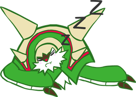 Chesnaught Sleeping by Technophonix