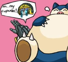 Snorlax VS Hotshot by Mysticom