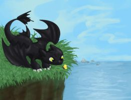 Toothless by Knarpulous
