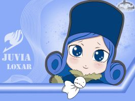 Juvia Loxar Chibi version by kurotsuchi-666