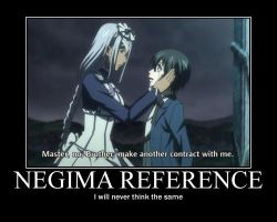 Black Butler Negima Demotivational by tacomama18