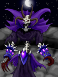 Moonlit Lich by Storm-Weaver