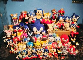 Sonic The Hedgehog Plush Collection 2013(21/11/13) by DarkGamer2011