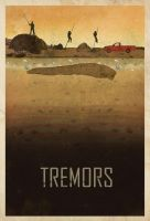 Tremors custom Poster by edgarascensao