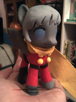 Cyborg 009/MLP - Cyborg 004 - Pony Custom by InvaderBlitzwing