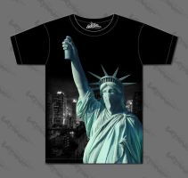 statue of liberty by Konf