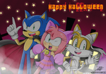 .:SONIC Halloween:. by The-Butcher-X