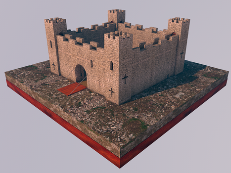 Fortaleza - Fortress by LucianoMolloDesigns