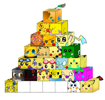 Chu cube colad with christal by ChristalLovePkmn