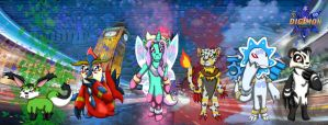 Digimons of Digimon Elements by Bethessa