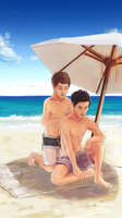 Kyungmyeon|Protection by Julia-Yes
