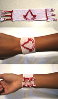 Assassin's Creed bracelet by TheArcticFlame