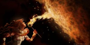Fire eater by laura-csajagi