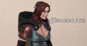 Dragon Age Redemption - Tallis custom toy by SomethingGerman