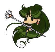 Sailor Pluto by candystartrees