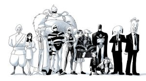 request - the umbrella academy by dragonmanX