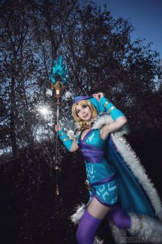 Crystal Maiden Cosplay  - The Battle Begins! by TineMarieRiis