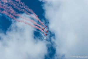 RAF Falcons Parachute Team 5 by TPJerematic