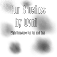 Fur Brushes for PSP X by Ovni-the-UFO