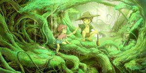 Secret Forest by ChencoIlufi