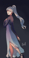 Weiss Schnee - RWBY by KatharineArt