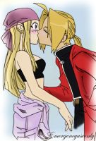 EdxWinry Kiss by Emergencyuseonly