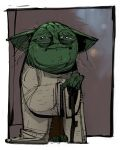 Yoda by JeanLaine