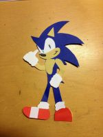 A Sonic bookmark! :D by TheJege12