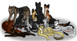 The Gang by Luckydog33k