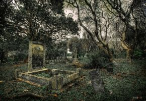 hdr - christian cemetery by mayonzz