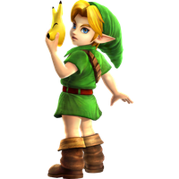 Young Link by blackapple343